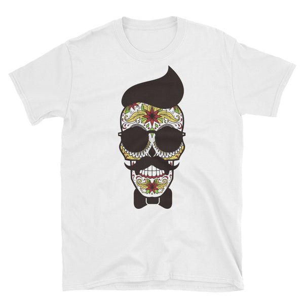 Pop Art, Teschio Unisex T-Shirt - WebLogo Store