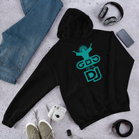 "Felpa ""God is a DJ"" Unisex - WebLogo Store"