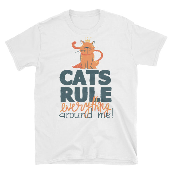 Cats Rule Unisex t-shirt - WebLogo Store