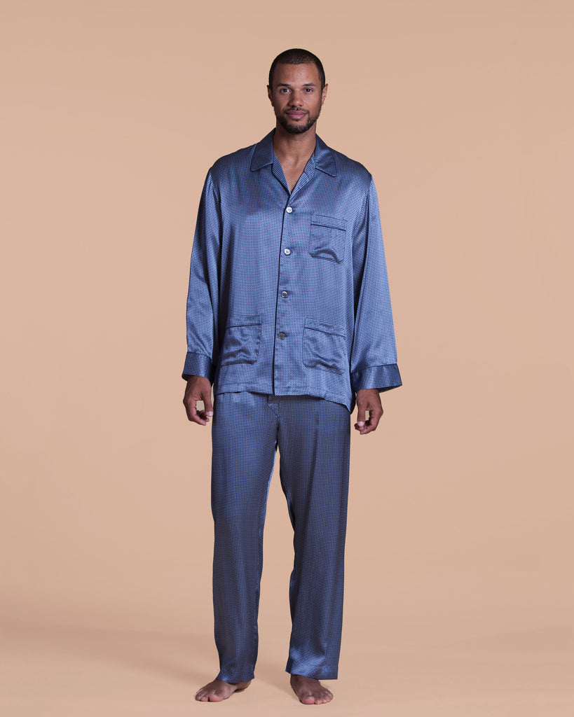 Brindsi Men's Silk Pajama