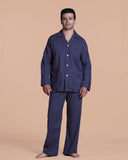 Nelson 43 Patterned Men's Cotton Pajama