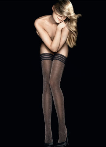 Grand Hotel Floral Lace Stocking