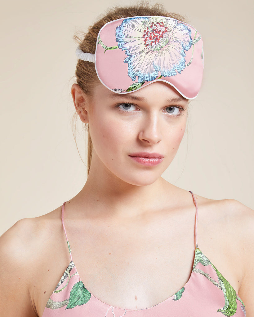 Olivia Von Halle Appleyard Silk Eye Mask
