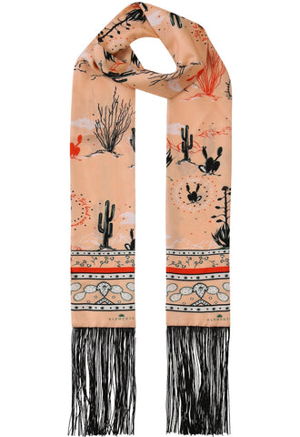 Marfa Sunset Giant Square Scarf