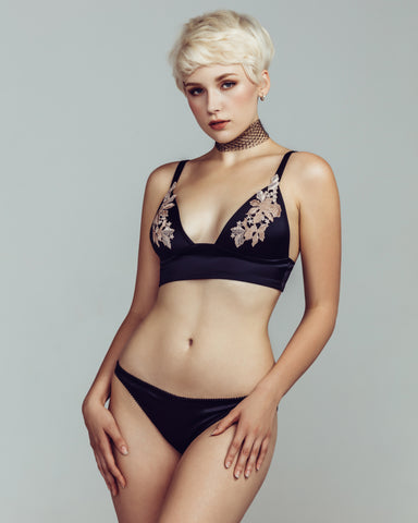 Crescent Bralette Set