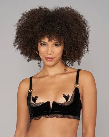 Nyx Beaded Bralette Set