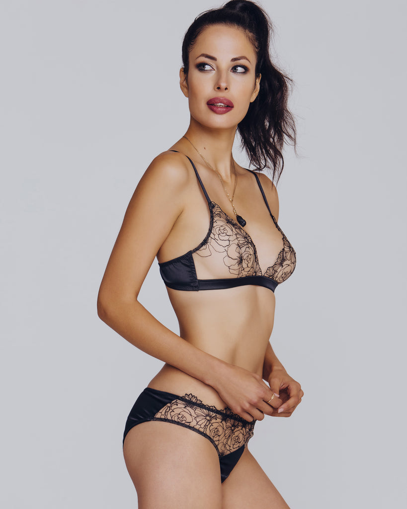 Camille Roucher DNA Bralette Set