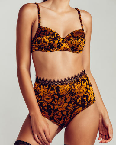 Sexy Baroque Lingerie Set