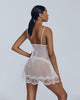Sheer ivory babydoll from Gilda & Pearl is perfect for a bridal trousseau
