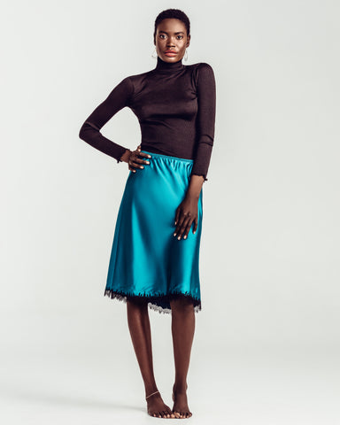 Midnight Cognac Skirt