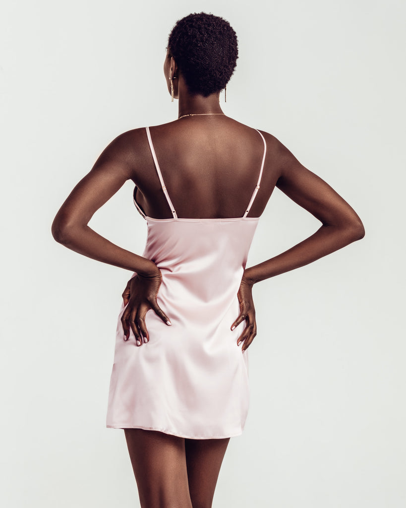 Salon Privee Silk Slip