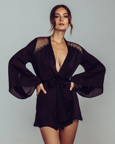 Nyx Emerald Short Robe