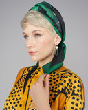 The Ika Paris Crepuscule Vert scarf can easily be worn as a scarf, shawl, top, head covering, and more