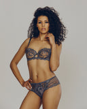 Grey Ajourage Petales Lingerie Set from Lise Charmel