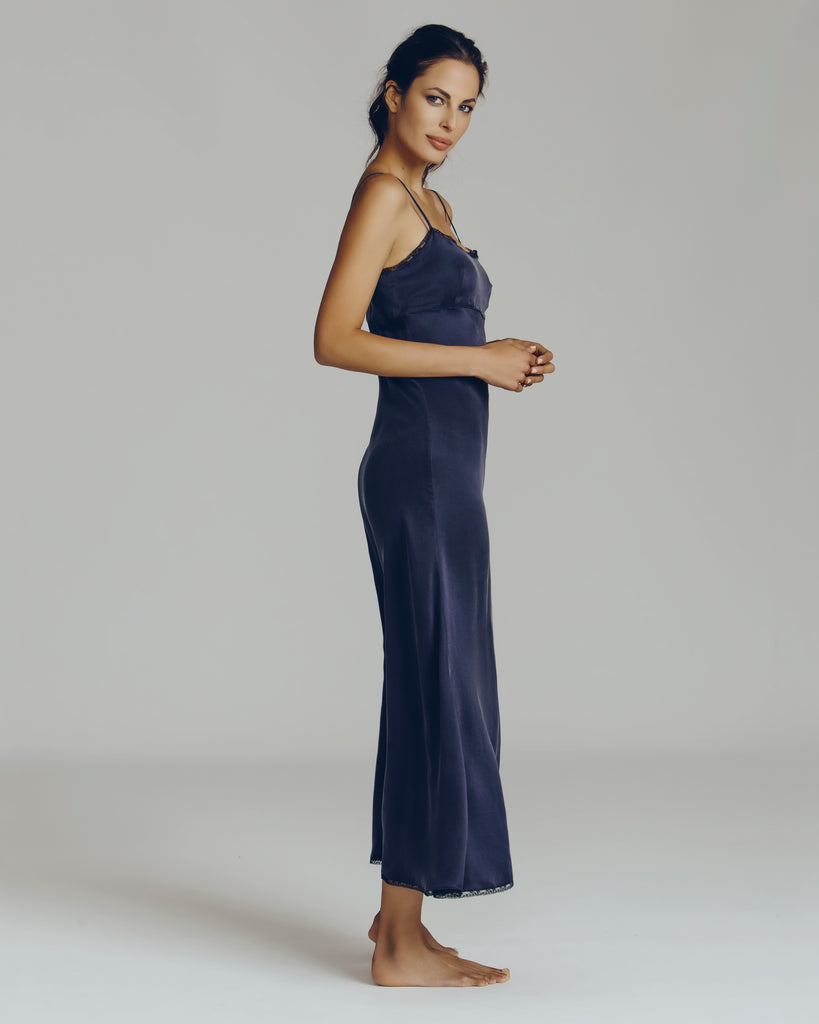Chloe Night Silk Gown