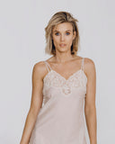 Exquisite non-stretch Italian cotton chemise from Morpho + Luna is as beautiful as it is comfortable