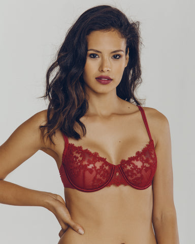 Ermitage Red Star Cup Lingerie Set