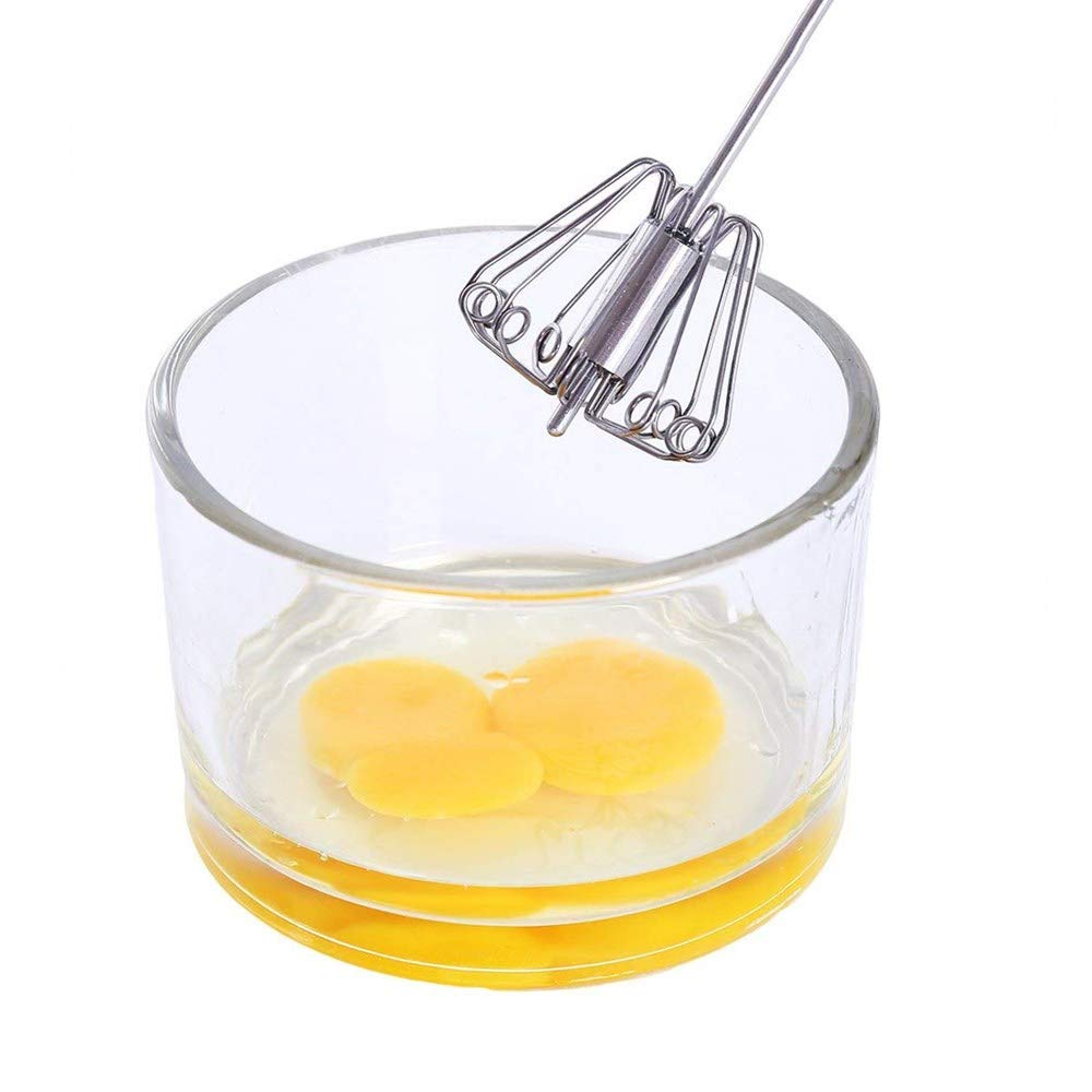 Semi-Automatic Egg Beater Stainless Steel