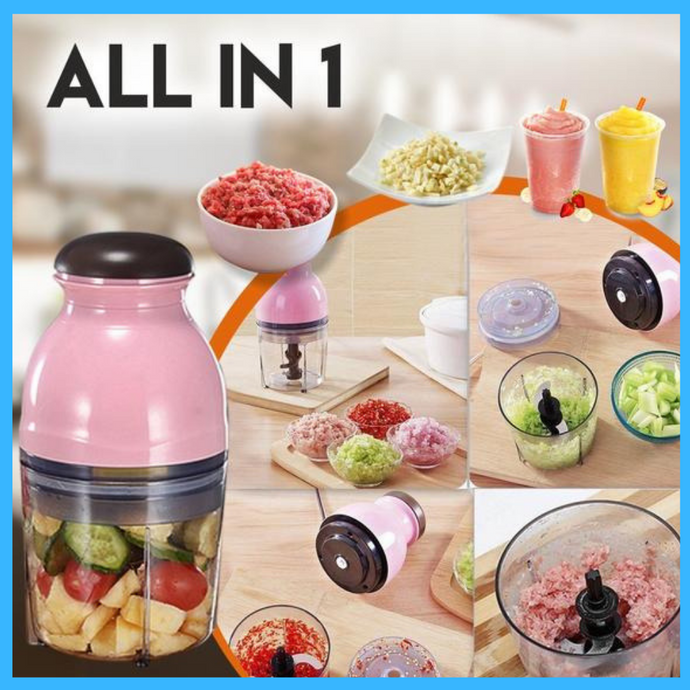 Mix & Crush Food Processor(Worldwide Free Shipping)