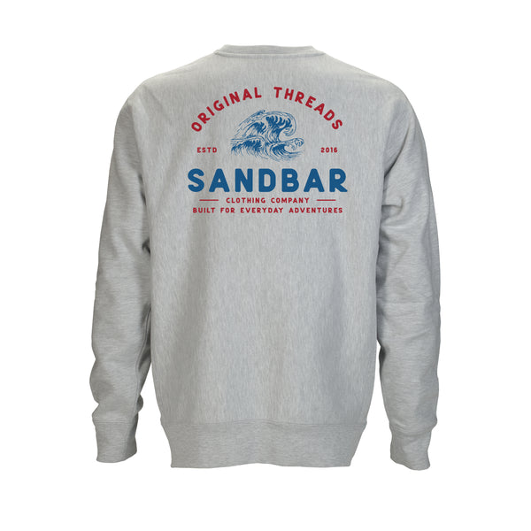 Sandbar Clothing Company Old School Crewneck