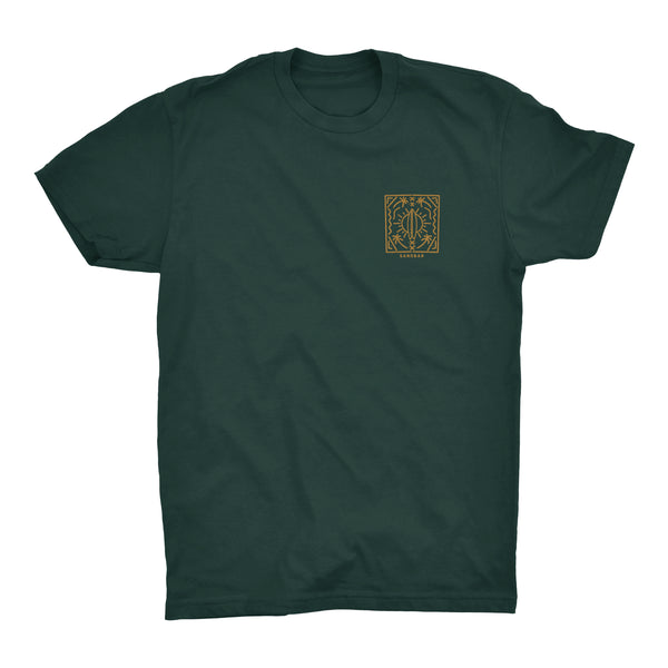 Sandbar Clothing Company Green Mirage Surf Board T-shirt