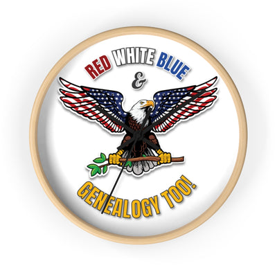 Red White Blue Genealogy Too Eagle Best Genealogy Gifts