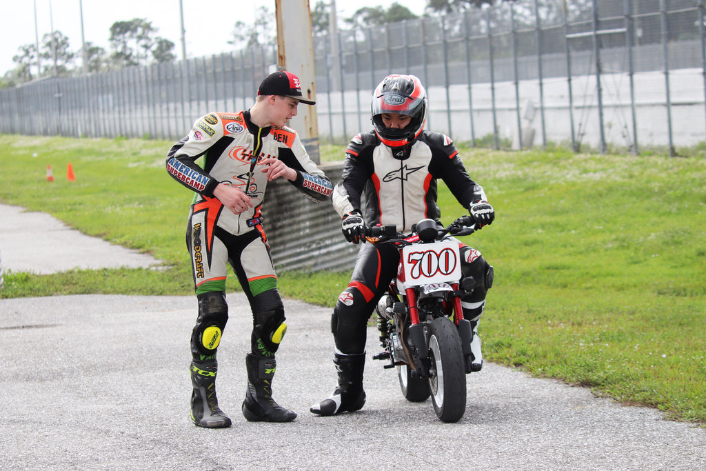 Ben Gloddy Racing SFLMiniGP Training Camp