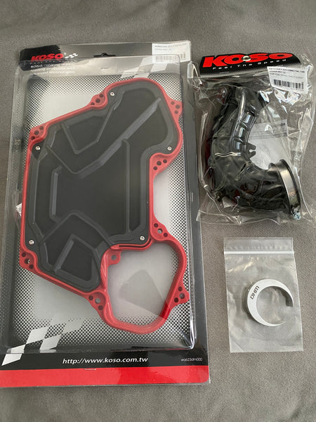 DHM Stock Airbox Mod Kit for Honda Grom