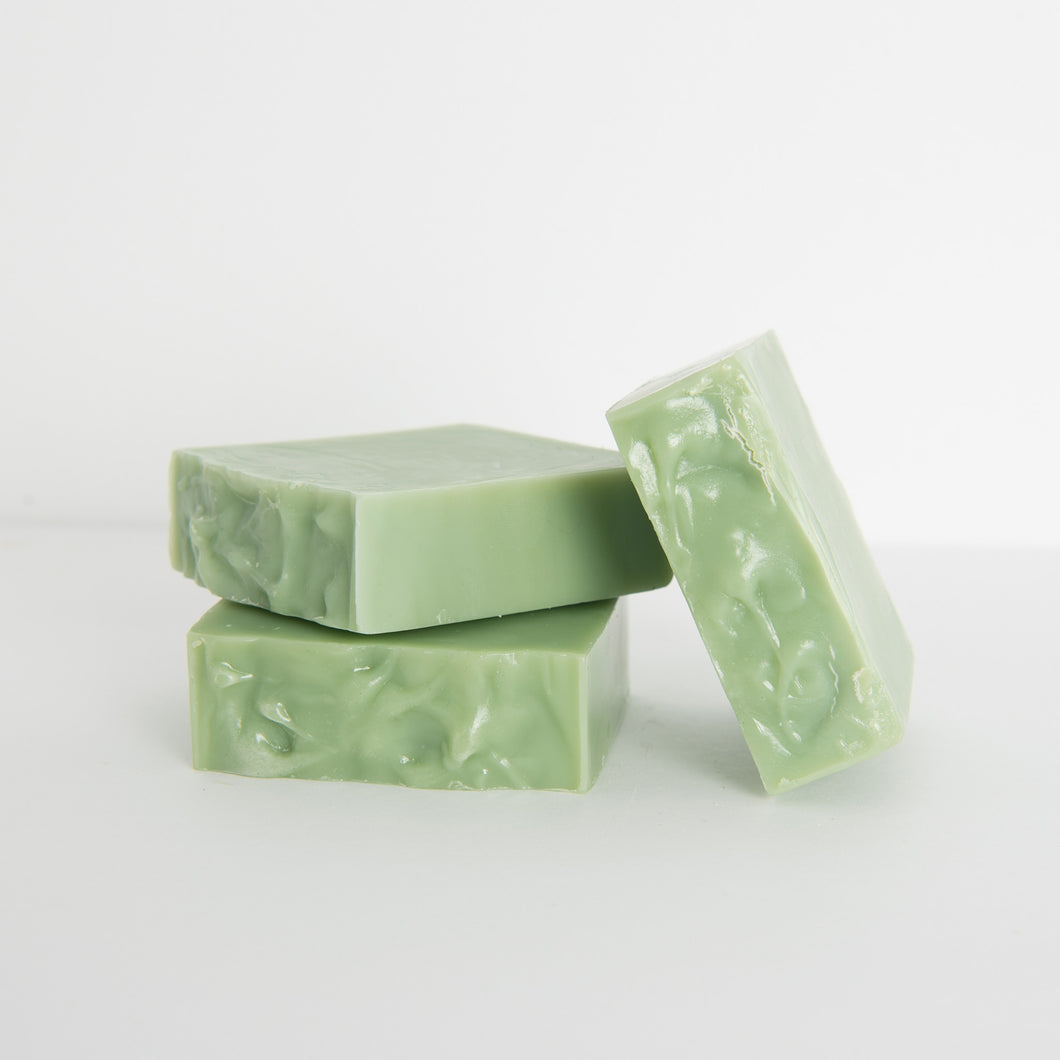 Tea tree essential oil and rosemary essential oil handmade soap