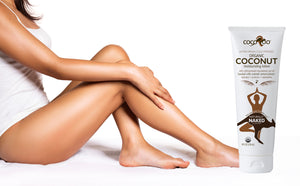 CocoRoo® Total ReJAVAnation Coffee Scrub & Naturally Naked Coconut Oil Moisturizer