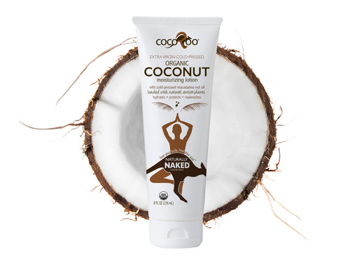 CocoRoo® Naturally Naked Organic Coconut Oil Moisturizer
