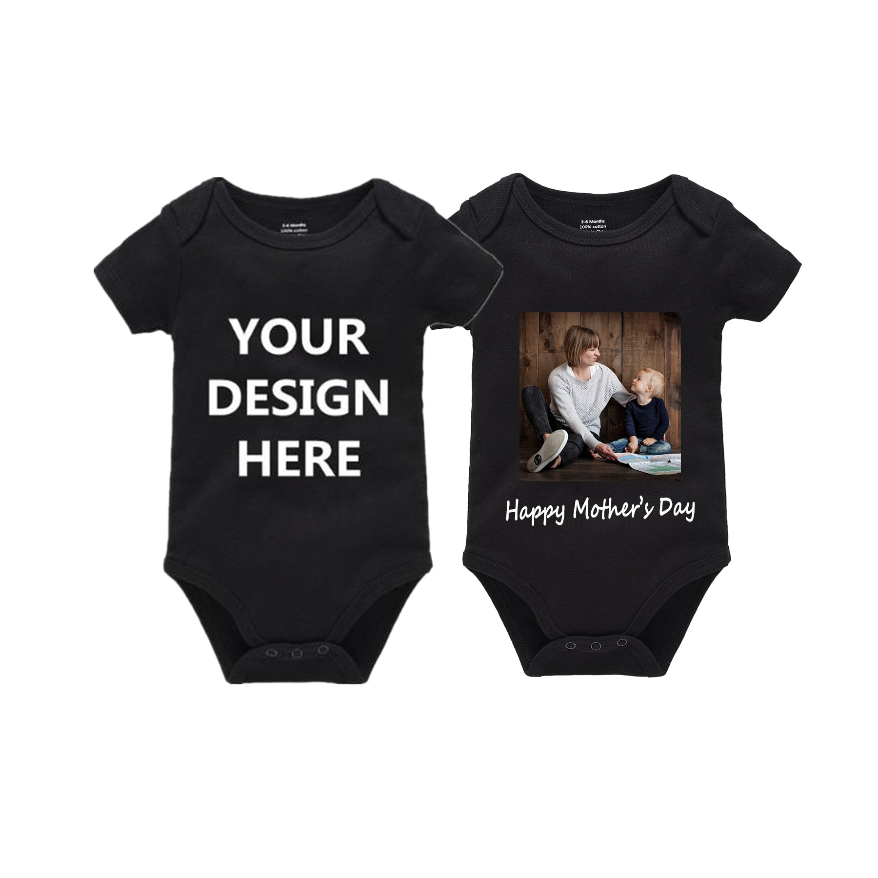 Colorful Dog Babys Boys /& Girls Short Sleeve Romper Bodysuit Outfits And T-shirt