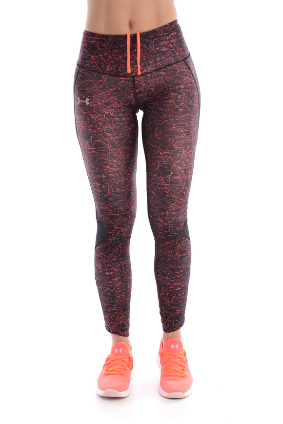Colanti UNDER ARMOUR femei ARMOUR FLY FAST PRNTD TIGHT 1320323-008