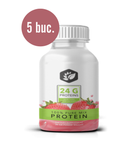 5 x 100% Pure MIX PROTEIN 30 gr. Buenafuerte