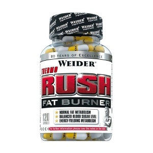 Weider Thermo Rush Fat Burner 120 Caps