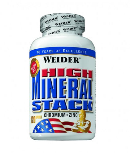 COMPLEX DE MINERALE WEIDER HIGH MINERAL STACK 120 CAPSULE