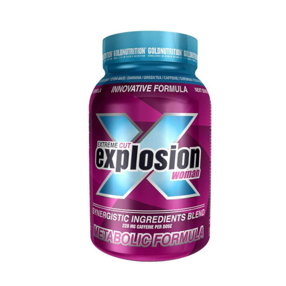 EXTREME CUT EXPLOSION GOLD NUTRITION 120 caps