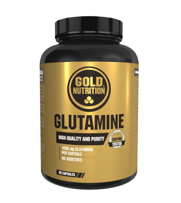GLUTAMINA GOLD NUTRITION 1000 MG  90CPS