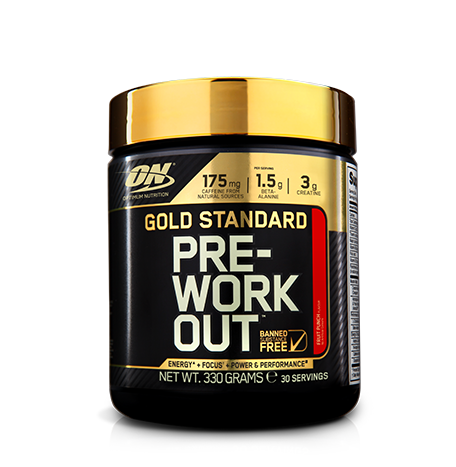 ON GOLD STANDARD PRE-WORKOUT 330 G