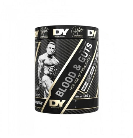 PREWORKOUT DORIAN YATES NUTRITION BLOOD & GUTS 340 G