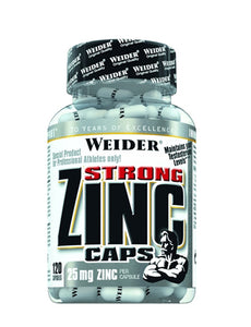 WEIDER STRONG ZINC 120 CAPSULE