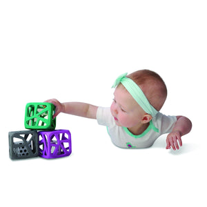 Chew Cube - Purple Chew Cube Malarkey Kids