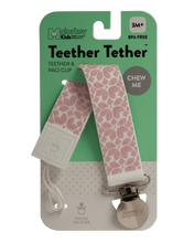 TEETHER TETHER - PINK FLORAL Teether Tether Malarkey Kids CA