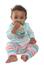 Buddy Bib - Ollie Owl Buddy Bib is a detachable, 3-in-1 sensory teething toy and bib.  The 100% food-grade silicone teether is attached to a plush toy and soft absorbent bib.   Great for reliving baby's teething pain.