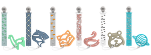 TEETHER TETHER & TEETHER - Fox & Fox Teether Tether & Teether Malarkey Kids CA