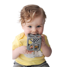 Chew Cube - Dark Grey Chew Cube Malarkey Kids