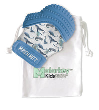 MUNCH MITT - WHALES Munch Mitt Malarkey Kids CA