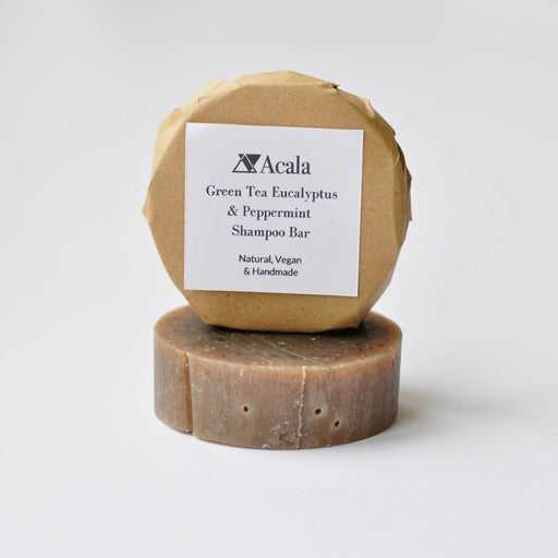 Green Tea Eucalyptus and Peppermint Shampoo Bar