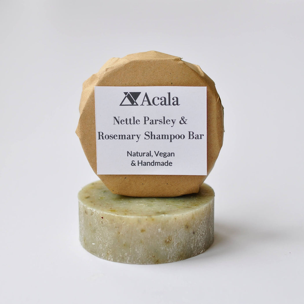 Nettle Parsley and Rosemary Shampoo Bar