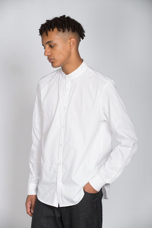 Dorian shirt with grandad collar